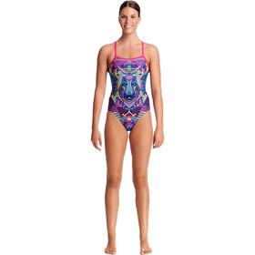 Funkita Single Strap One Piece Badpak Dames, wolf pack